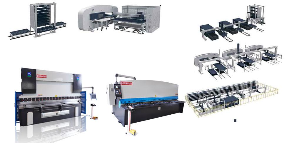 CNC Press Brake and Hydraulic Shearing Machine