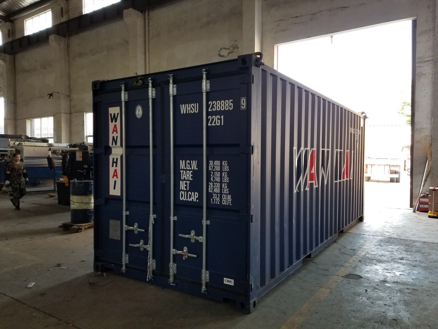 To Cambodia - WC67K 80T 2500 and QC12k 8x2500 delivery out
