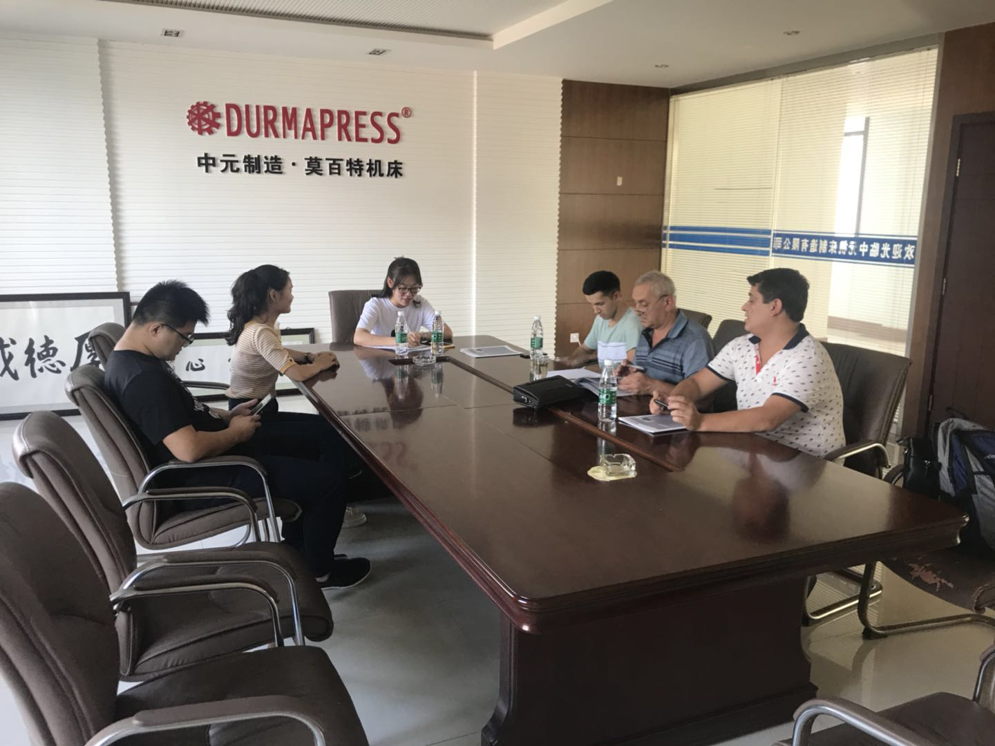 Welcome Clients from Uzbekistan puchase the WC67K 160T 4000 and QC12K 16X4000 with Durmapress