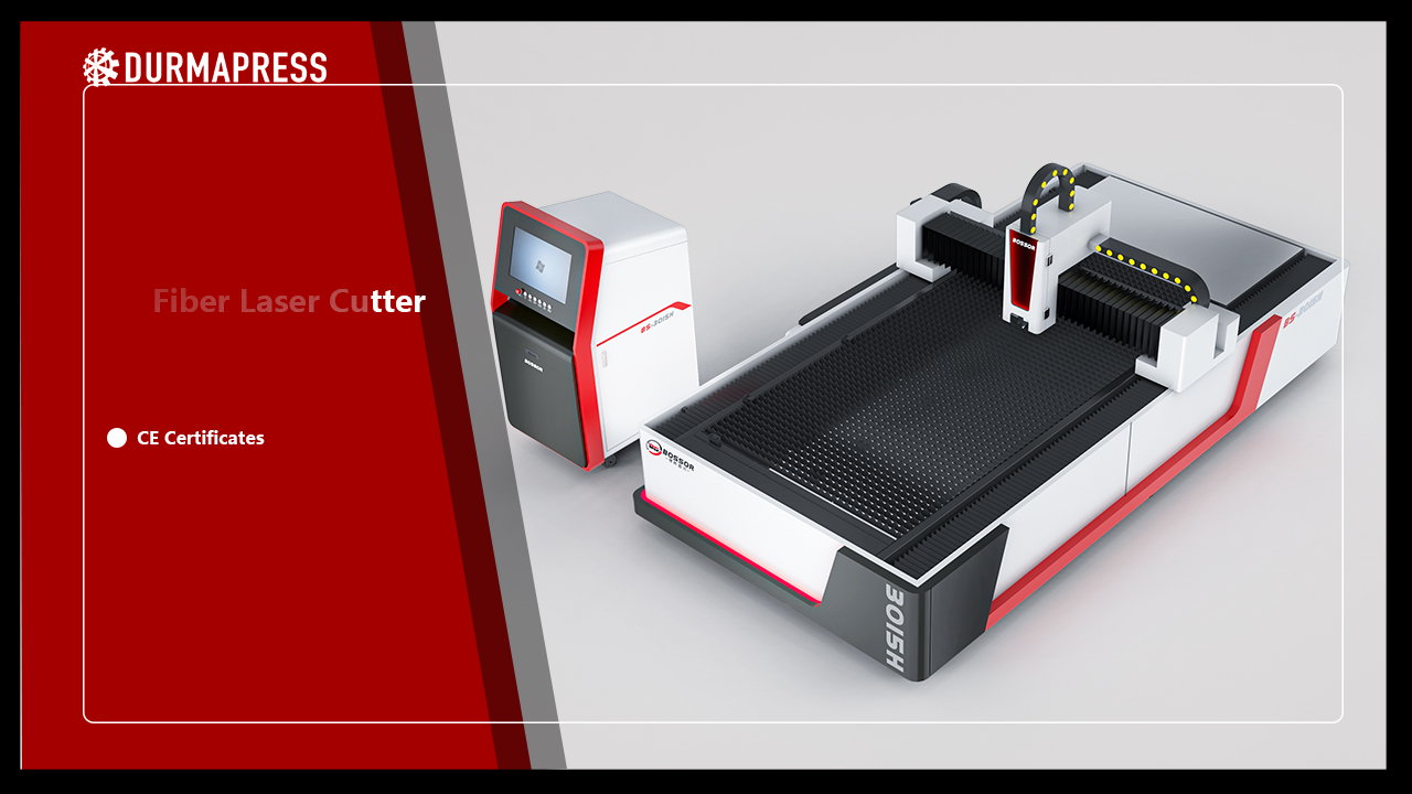 2020 New Design of Durmapress Open Type Fiber Laser Cutting Machine