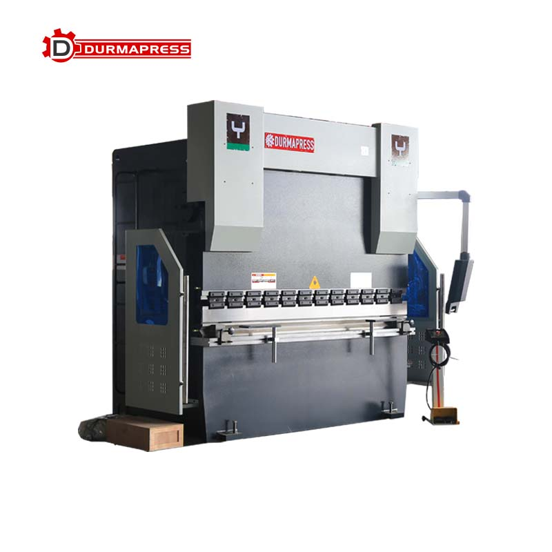 Where to adjust the pressure of 250T2500 E21 CNC bending machine